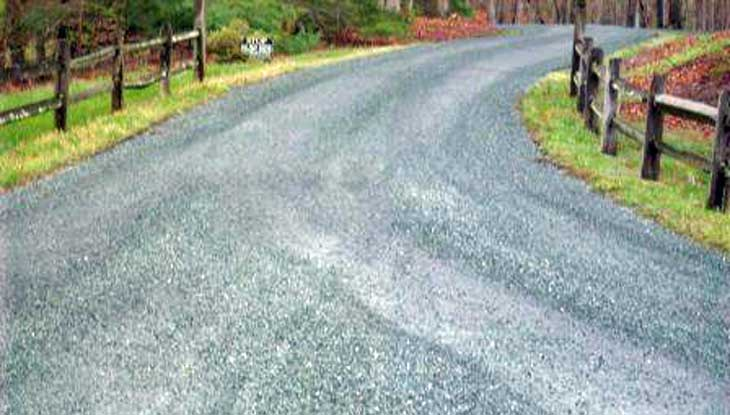 Tar and gravel driveways asphalt paving south hill va harrison paving tar gravel driveway project solutioingenieria Choice Image